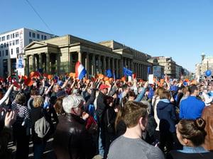 Pulse of Europe in Stuttgart